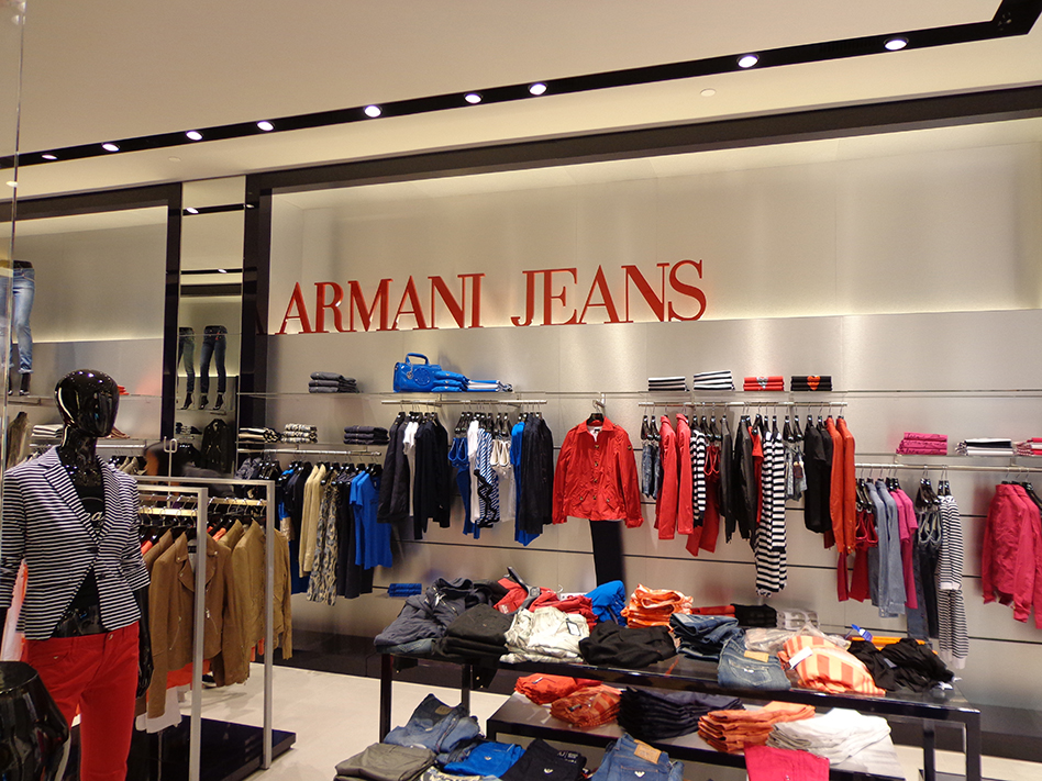 Armani Jeans Shopping Ribeirão